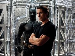 A suitable preview: Footage from 'The Dark Knight Rises,' starring Christian Bale as Bruce Wayne/Batman, had convention attendees talking. The film hits theaters July 20.