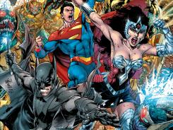 Earth 2 features an alternate world of DC Comics' greatest superheroes, such as Batman, Superman and Wonder Woman.