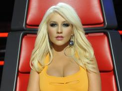 Christina Aguilera is one of the superstar judges on NBC's 'The Voice.'
