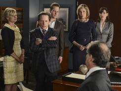CBS' 'The Good Wife' collected a season-steady 10 million viewers for its third finale, but it was short of last year's 12.6 million.