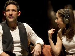 Steve Kazee is up for leading actor in a musical for 'Once.' Cristin Milioti will vie for leading actress.