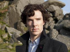 Moor, moor, moor:  Benedict Cumberbatch, above, returns as Sherlock Holmes, with Martin Freeman as Watson.