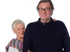 &quot;It was like a theater company, actually,&quot; says Dench, left, of the 'Marigold' experience. &quot;On tour,&quot; Wilkinson adds.