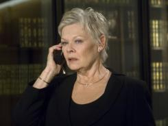 "Judi Dench will reprise her role as ""M"" in this year's new James Bond film, 'Skyfall.'"