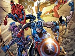 Marvel Comics is putting out an Avengers issue for Free Comic Book Day Saturday, right in time to hook fans going to the new movie.