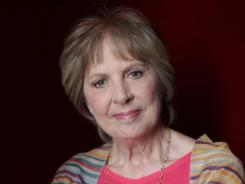 """I've always extravagantly admired her as an actress,"" says 'Marigold' director John Madden of Penelope Wilton (pictured). ""She's got an incredible poignancy and delicacy. And she's a brilliant comedian."""