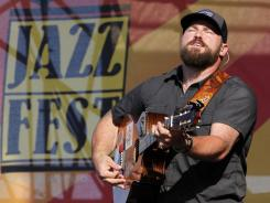 Zac Brown performs Friday with the Zac Brown Band at the New Orleans Jazz and Heritage Festival.
