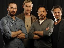 There was no stopping Chris Evans, Chris Helmsworth, Robert Downey Jr. and Mark Ruffalo at the box office this weekend.