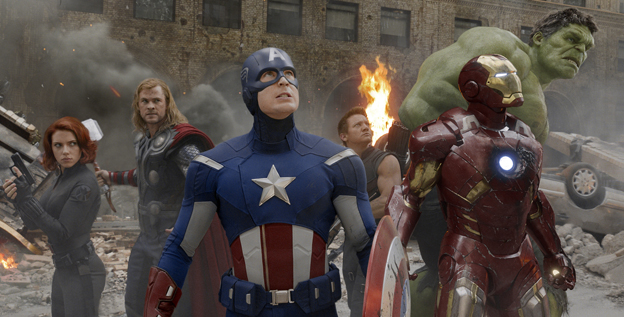 They'll be back: With a number of solo efforts already lined up, the heroes of 'The Avengers' will be back on the silver screen before too long.