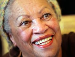 Toni Morrison, whose new novel is out Tuesday, is also one of 13 recipients of this year's Presidential Medal of Freedom, the highest civilian honor.