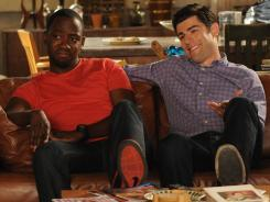 Tonight's season finale of Fox's 'New Girl' has its high points, but it tries too hard.