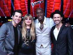 Chris Mann, left, Juliet Simms, Jermaine Paul and Tony Lucca were the final four on 'The Voice.' Who came out on top?
