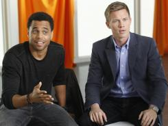 Travis and Wes (Michael Ealy and Warren Kole) go to couples' counseling in 'Common Law,' but they're not gay. Instead, they're straight cop partners sent there by their newly new-age boss to restore calm in their work relationship.