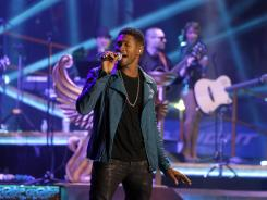 Usher will be the musical guest on this week's 'Saturday Night Live.'
