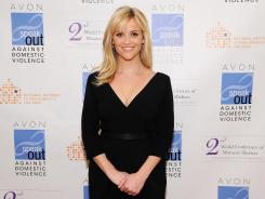 Reese Witherspoon poses Feb. 28 at the 2nd World Conference of Women's Shelters in Washington, D.C.