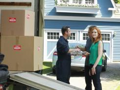 After eight seasons, the moving truck has come to Wisteria Lane as 'Desperate Housewives' wraps up its run.
