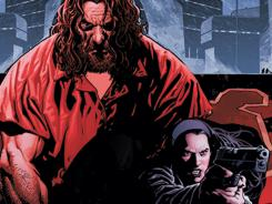 The villainous Vandal Savage and his daughter Kassidy are caught in a murder-solving scenario in the pages of DC Universe Presents.