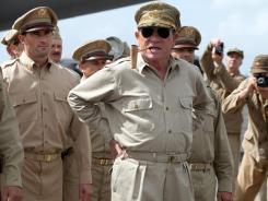 After Japan's surrender: Tommy Lee Jones is Gen. Douglas MacArthur in the World War II drama 'Emperor.'