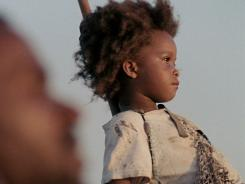 Quvenzhane Wallis makes her debut in the highly anticipated, Sundance award-winning 'Beasts of the Southern Wild.'
