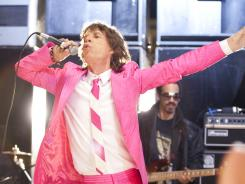 Mick Jagger will stop singing long enough to host 'Saturday Night Live.' But he will perform with musical guests Foo Fighters and Arcade Fire as well.