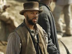 Rapper Common takes a starring role in AMC 'Hell on Wheels,' this week's DVD pick.