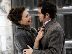 Maggie Gyllenhaal and Hugh Dancy offer talented performances in the historical rom-com 'Hysteria,' which fails to live up to its full potential.