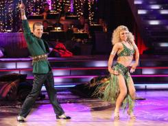 """Mark and Katherine have been hammering away on their freestyle routine for the finals. He believes that this dance in particular """"should reflect on all the things a celebrity partner has learned throughout this process and more."""""""