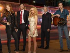 Gone country: ABC is singing the praises of 'Nashville,' a soap set in Music City starring Connie Britton and Hayden Panettiere as rivaling singers on the same tour.