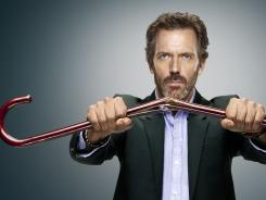 After eight seasons, Hugh Laurie hangs up his cane as brilliant diagnostician Gregory House.