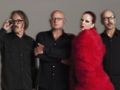 Butch Vig, left, Steve Marker, Shirley Manson and Duke Erikson of the band Garbage return with their first album since 2005.