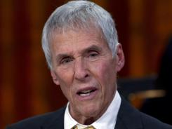 Burt Bacharach, along with Hal David, is receiving the Gershwin Prize for Popular Song.