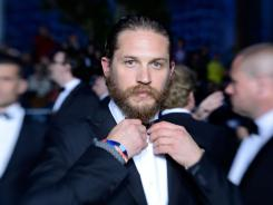 ":These characters are difficult to play because I have a very busy head,"" says Tom Hardy. ""I have inside voices that I have learned to contain."""