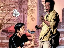 Mutant superhero Northstar asks his boyfriend Kyle to marry him in the new issue of Astonishing X-Men.