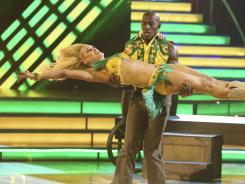 Donald Driver, with pro partner Peta Murgatroyd, is the new champion of 'Dancing With the Stars.'