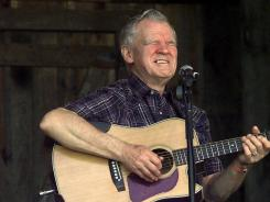 Folk music legend Doc Watson was in critical condition at a hospital in Winston-Salem, N.C., Thursday after falling at his home earlier this week.