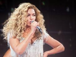 Beyonce performs at Revel in Atlantic City on Friday.