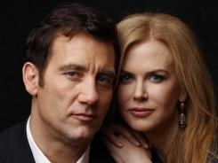 Clive Owen and Nicole Kidman portray Ernest Hemingway and his little-known third wife, World War II correspondent Martha Gellhorn, in the HBO movie 'Hemingway & Gellhorn.'