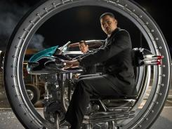 'Men in Black 3,' with Will Smith, knocked 'The Avengers' from the top spot over the holiday weekend.