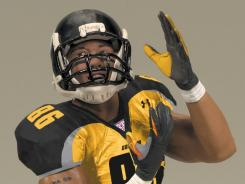 Hines Ward has a cameo as a football player in The Dark Knight Rises, as well as tie-in figure from McFarlane Toys.