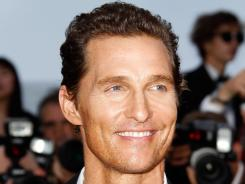 Matthew McConaughey attends the 'Mud' Premiere during the 2012 Cannes Film Festival. McConaughey also stars in the daring and dark 'The Paperboy,' which had a Cannes premiere as well.