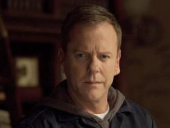 Keifer Sutherland stars in 'Touch,' which concludes its first season tonight. Despite its ratings struggles, the show's been renewed.