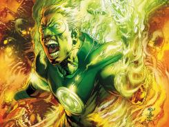Alan Scott, the Green Lantern of the parallel-world Earth 2, is revealed as a gay man in the newest issue of DC Comics' Earth 2 series.