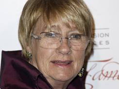 Kathryn Joosten arrives at the Academy of Television Arts and Sciences 21st Annual Hall of Fame Gala in Beverly Hills, Calif., on March 1.