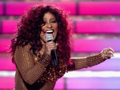 R&B star Chaka Khan lost 60 pounds recently and showed off her figure on the finale of American Idol.