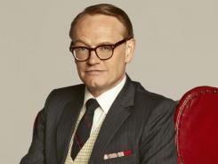Jared Harris' character, Lane Pryce, made a quick and dramatic exit from 'Mad Men' on Sunday.