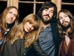 Matt Burr, Grace Potter, Scott Tournet and Benny Yurco serve up 'Never Go Back' from 'The Lion and the Beast' album.