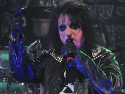 Alice Cooper will follow in the footsteps of Kanye West and others when he hits the Bonnaroo stage early Sunday.
