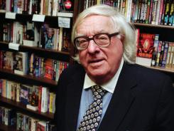 Ray Bradbury, who wrote everything from science fiction to mystery and humor, died at 91. He's pictured at a 1997 book signing.