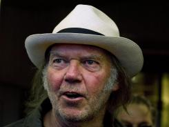 "'Waging Heavy Peace,' Neil Young's mix of diary and ""projection,"" is scheduled to hit stores in October."