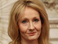 There's a 'Vacancy' after 'Harry Potter' for author J.K. Rowling.